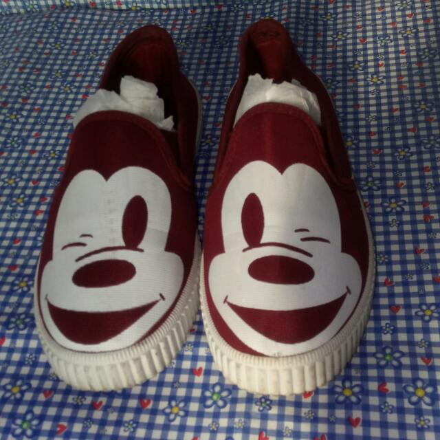 Mickey flat shoes