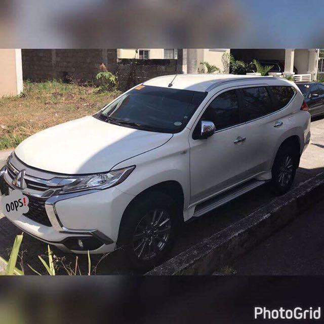 Mitsubishi Montero Sports 2016 Glx