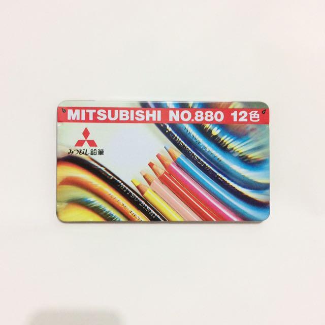 三菱MITSUBISHI彩色鉛筆NO.880 12色 K88012CP