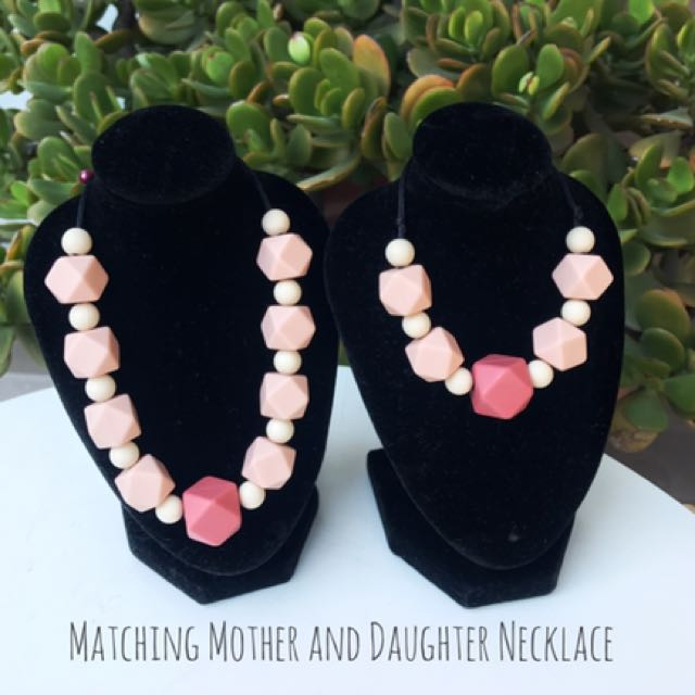 Mother And Daughter Matching Necklace