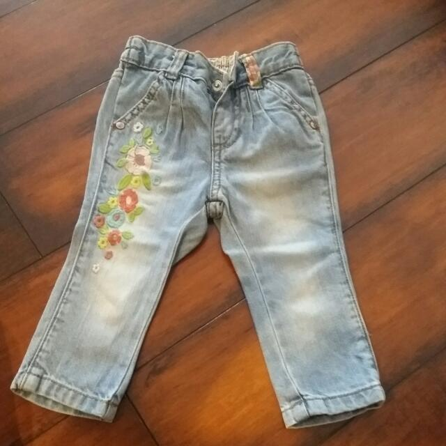 Mothercare Girl Jeans
