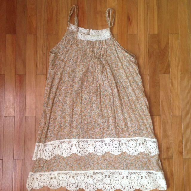 NEW-flower Dress