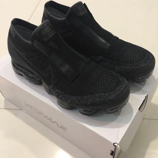 Nike Air Vapormax Cdg Triple Black Size