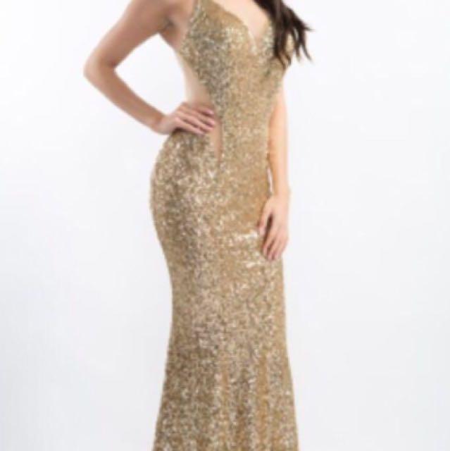 NINA COUTURE PROM DRESS