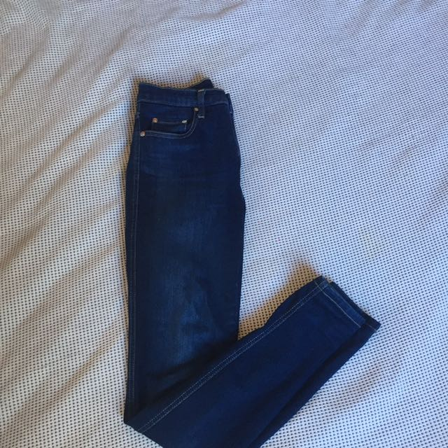 Nobody Cult Skinny Leg High Rise Size 25