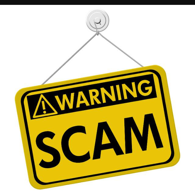 Not Allow For Scammer!!!