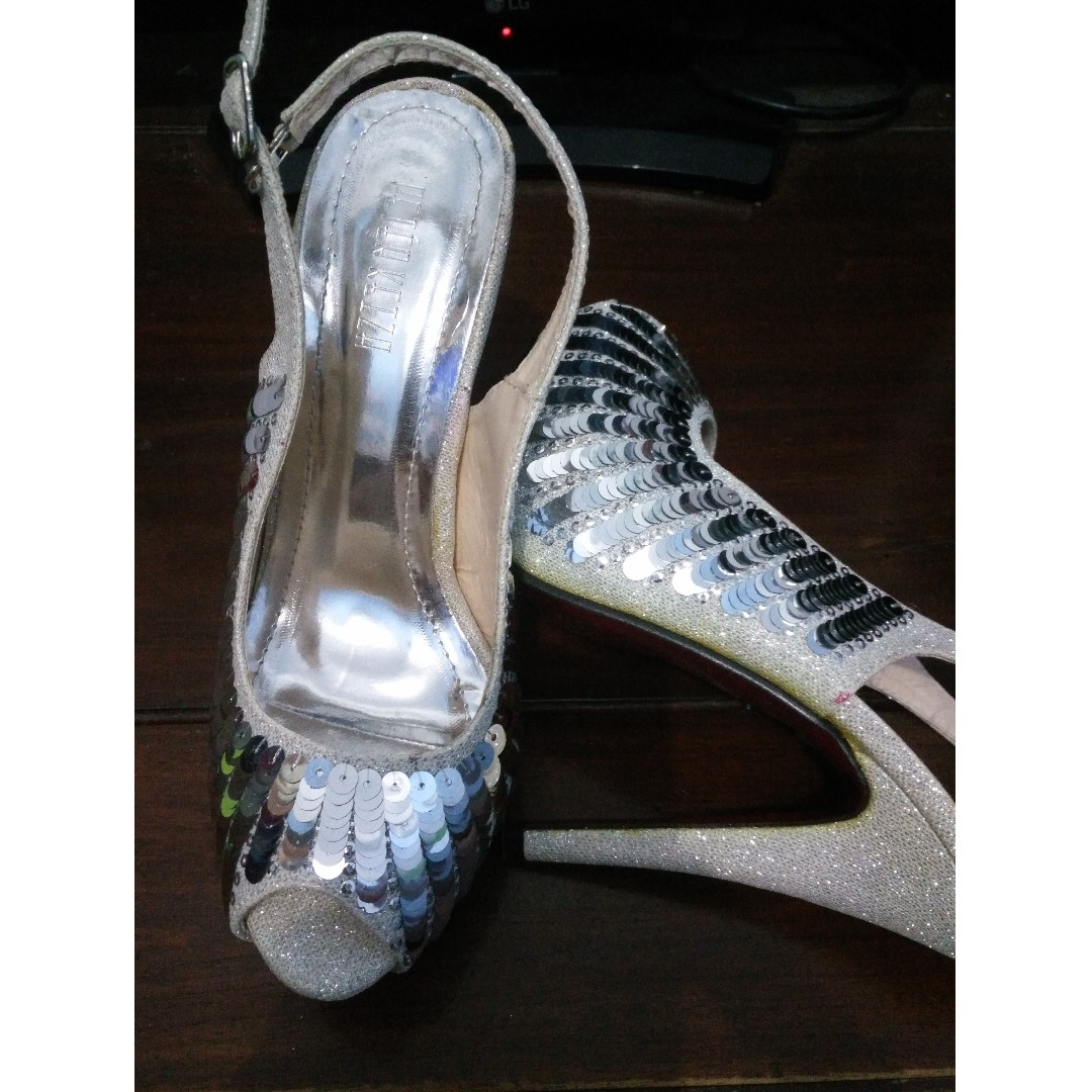 PETER KEZIA HIGH HEELS - SILVER