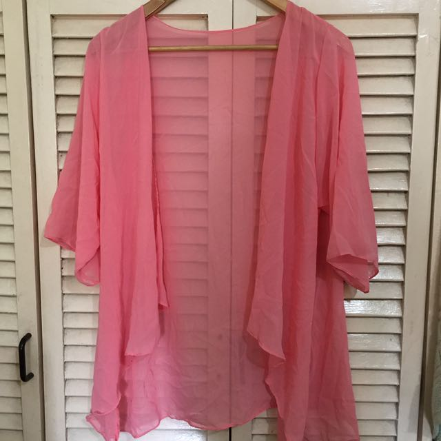 Pink Beach Coverup