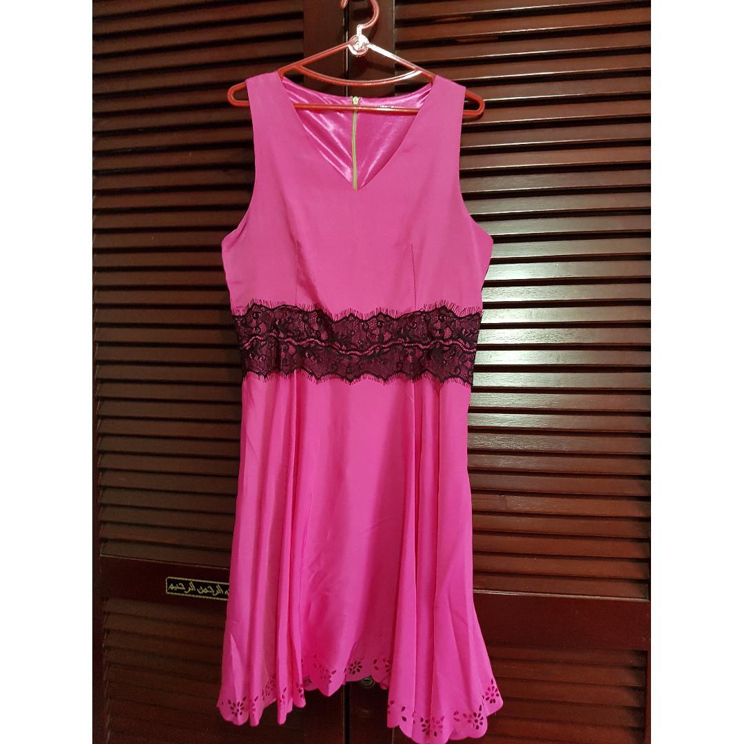 Pink Fushcia Dress