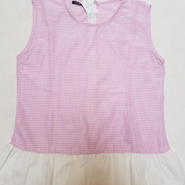 !NEW! Pink Ruffle Top
