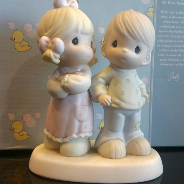 Precious Moments Figurines Sometimes You Re Next To Impossible Vintage Collectibles Vintage Collectibles On Carousell