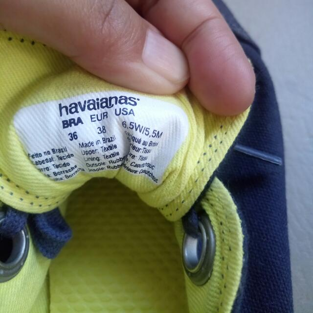 Repriced!!! Preloved Havaianas Sneakers