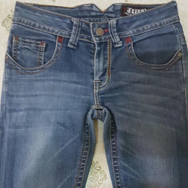 Preloved Tibal Denim Pants