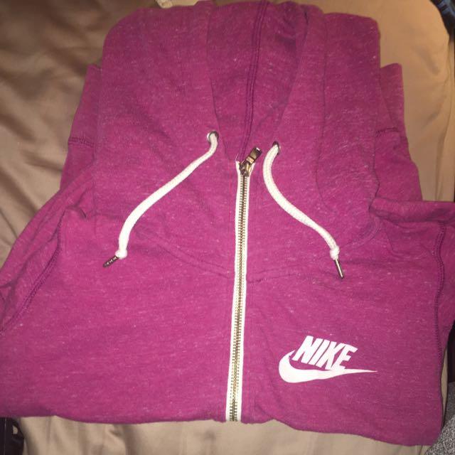 Purple Nike ZipUp Hoodie