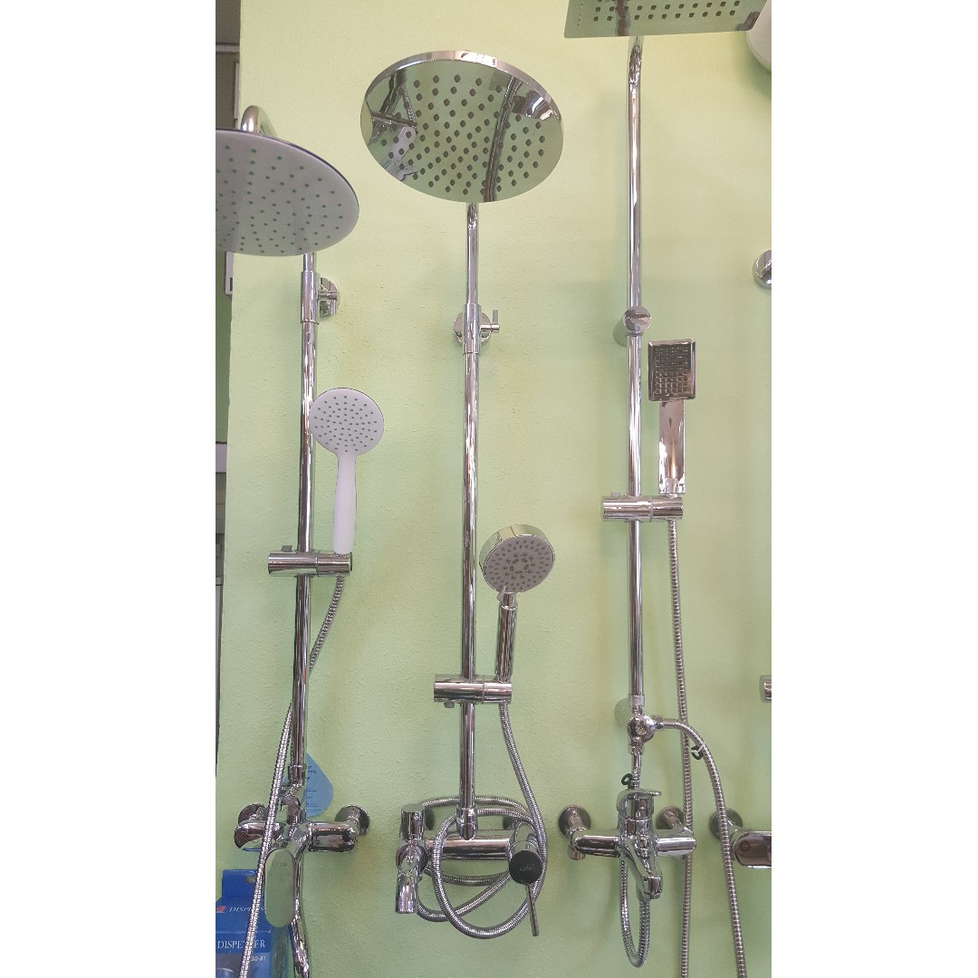 RAIN SHOWER WITH MIXER! NOBEL BRAND!, Home Appliances on Carousell