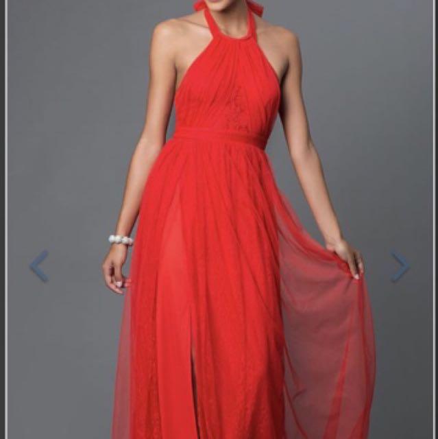 Red Ball Dress