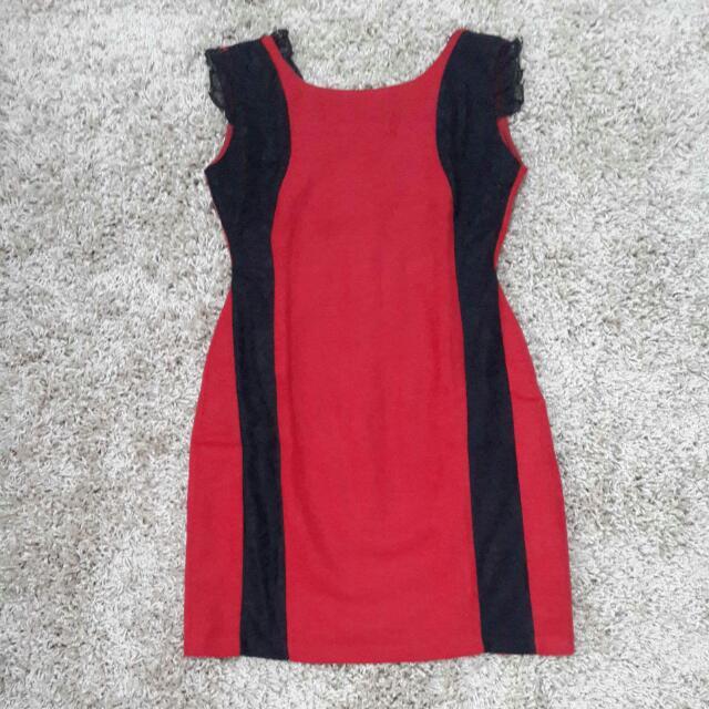 Red Dress Velvet
