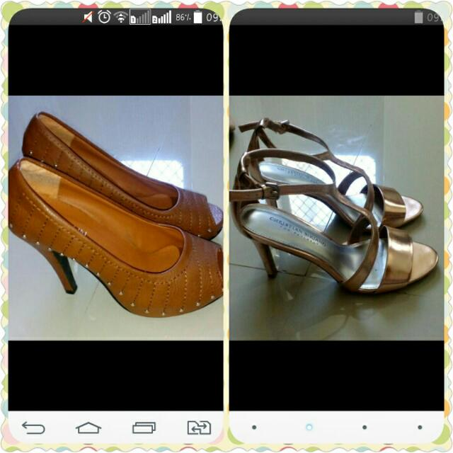 SALE! Pre Loved Shoes 500each. Buy both for just 800!