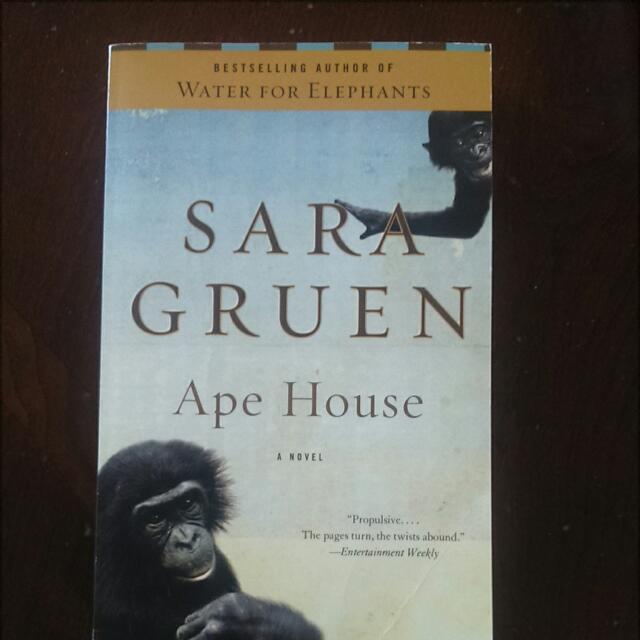 *REDUCED* Sara Gruen - Ape House