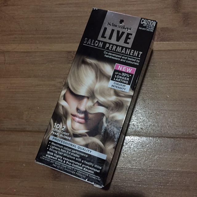 Schwarzkopf Live Salon Permanent Hair Colour