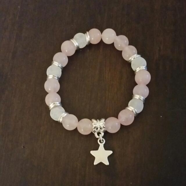 Semi-precious Stone Handmade Bracelet