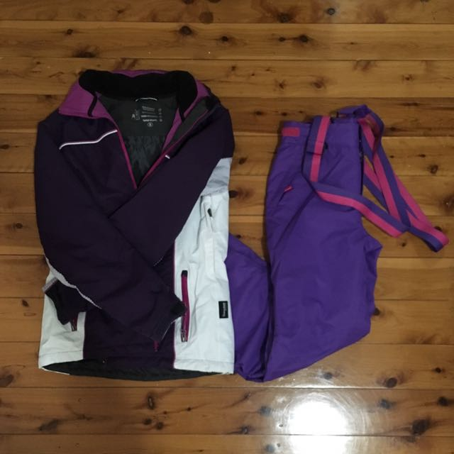 Ski Jacket And Pant Size 6-8