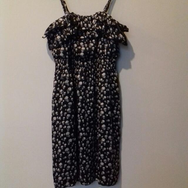 Skull Casual Dress