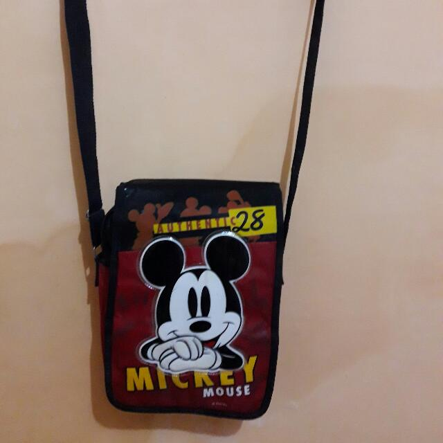 sling bag mickey mouse