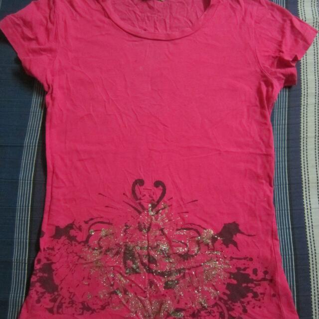 SODA pink shirt