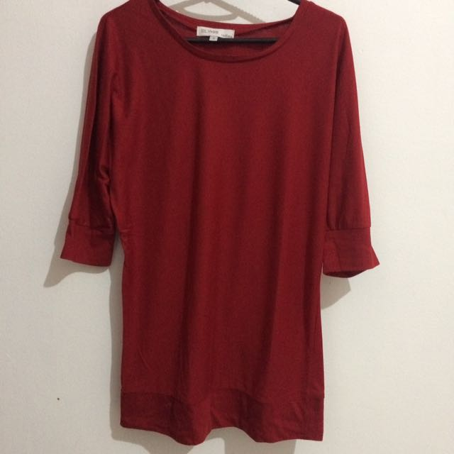 St Yves Clothes Maroon