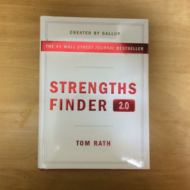 strengths finder books stationery textbooks on carousell