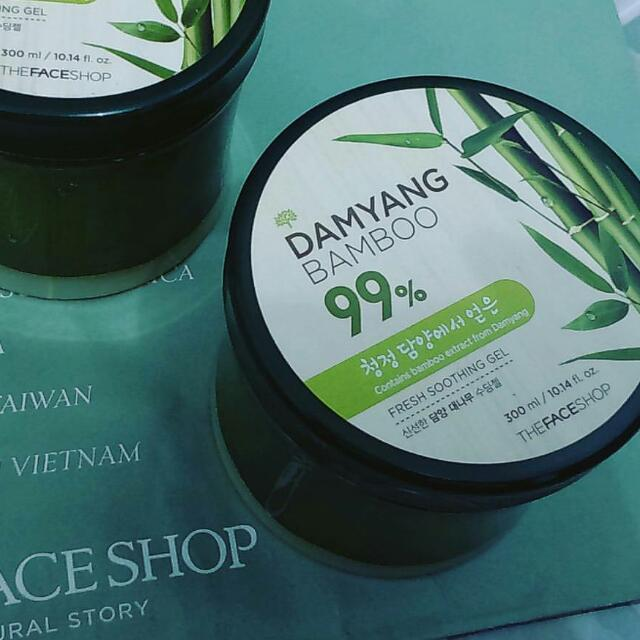 The Face Shop TFS Damyang Bamboo Soothing Gel