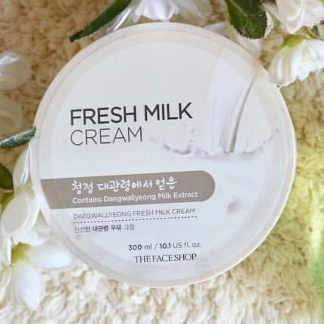 The Face Shop tfs Fresh Milk Cream