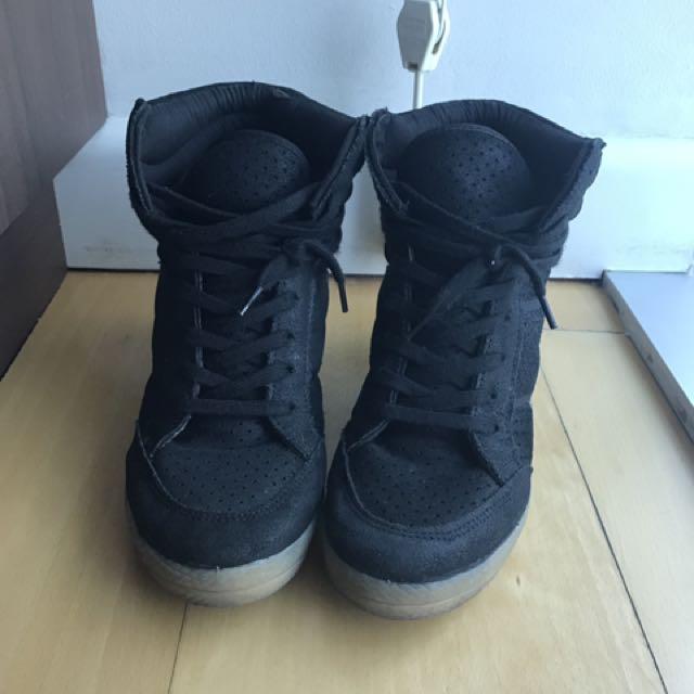Topshop Sneaker Wedges