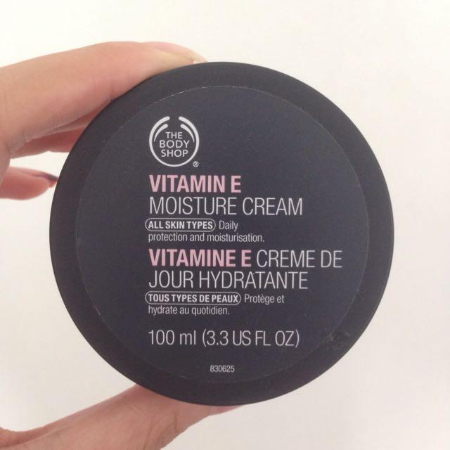 Vitamin E Moisture Cream The Body Shop