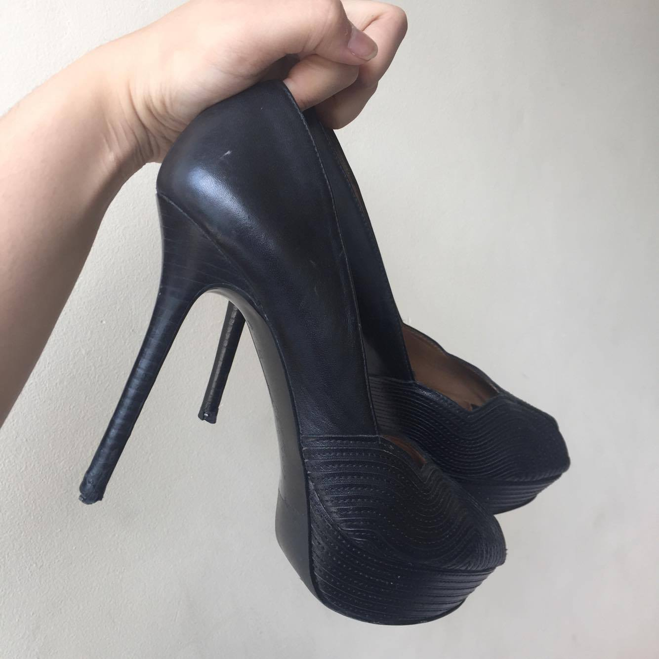 RUSH!!! ZARA black high heels