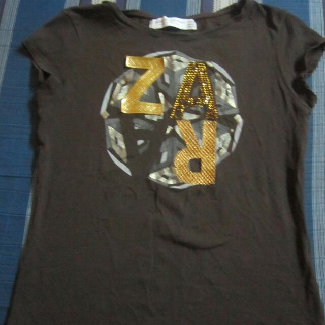 Zara Brown shirt