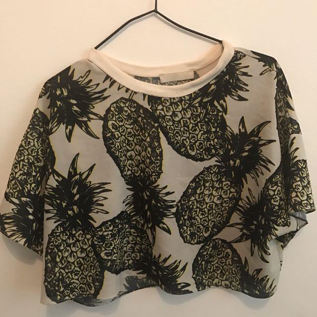 Zara Pineapple Top