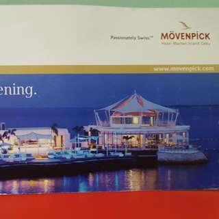 Movenpick Dinner Buffet For 3pax