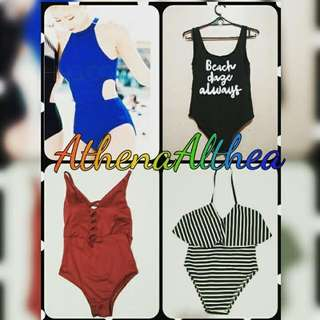 Onepiece swimsuits