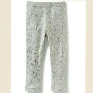 Old Navy  灰色星星貼腿褲