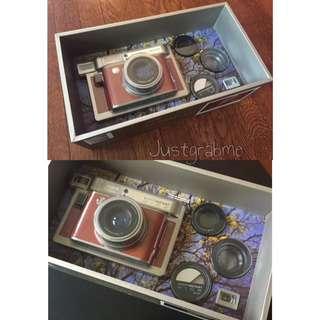 Fujifilm Lomo Instant Wide Instax Central Park Camera + Lens Kit