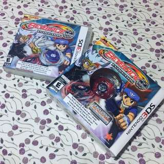 Nintendo 3DS Game : Beyblade Evolution