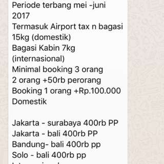 Promo Finalcall Air Asia Super Murah