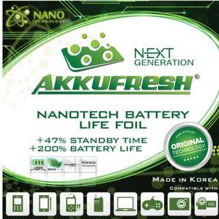 Akkufresh Battery Extender