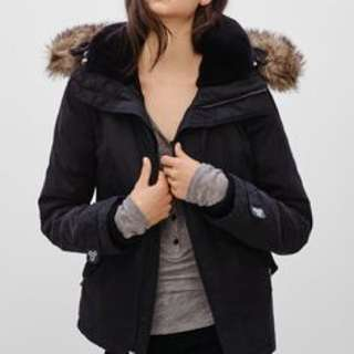 TNA Black Parka