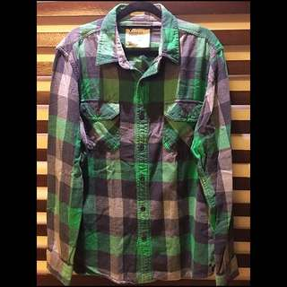 American Eagle Checkered Long sleeves Shirt