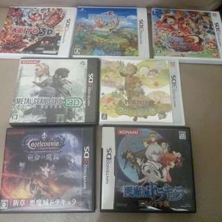 3DS NDS Games