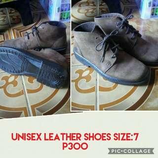 Unisex Leather Shoes