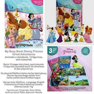 My Busy Book Disney Princess Great Adventures